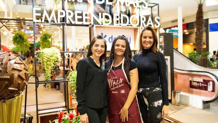 3 Folhas marca presença na Feira de Mães empreendedoras